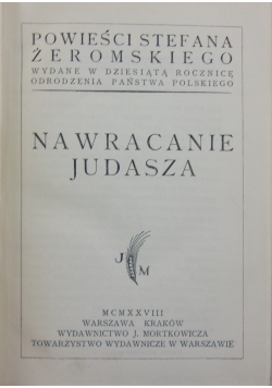 Nawracanie Judasza 1928 r.