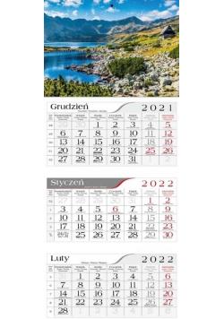 Kalendarz 2022 Trójdzielny Morskie oko CRUX