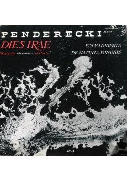 Płyta winylowa Penderecki Dies Irae