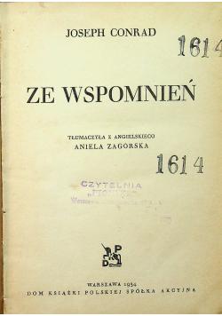 Ze wspomnień 1934 r.