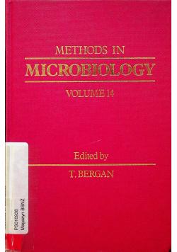 Methods in microbiology Volume 14