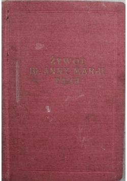 Żywot Anny Marji Taigi 1926 r