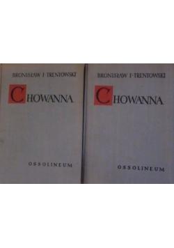 Chowanna tom 1 i 2