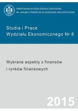 Studia i Prace Wydziału Ekonomicznego Nr 8