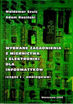 Wybrane zagadnienia z miernictwa i elektroniki dla informatyków