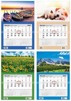 Kalendarz 2022 jednodzielny mix HELMA