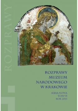 Rozprawy Muzeum Narodowego w Krakowie T.6