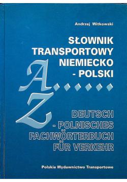 Słownik transportowy niemiecko polski