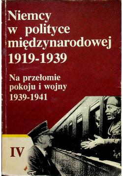 Niemcy w polityce międzynarodowej 1919 1939