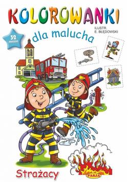 Kolorowanki dla malucha Strażacy