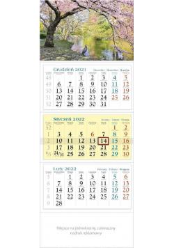Kalendarz 2022 trójdzielny KT 05 PARK
