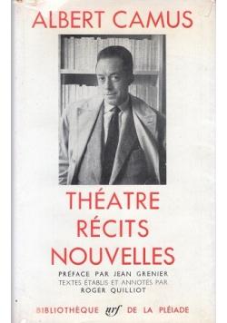 Theatre recits nouvelles