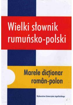 Wielki słownik rumuńsko polski