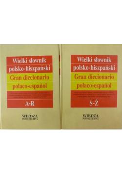 Podręczny słownik polsko hiszpański Tom I i ii