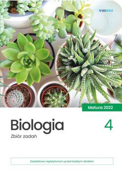 Biologia Zbiór zadań matura 2022 Tom 4