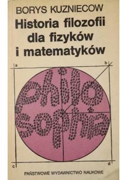 Historia filozofii dla fizyków i matematyków