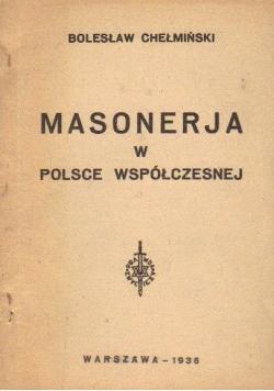 Masonerja w Polsce współczesnej 1936 r