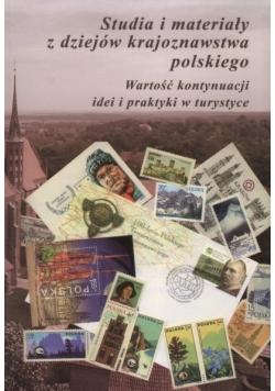 Studia i materiały z dziejów krajoznawstwa polskiego