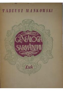 Genealogia sarmatyzmu 1946 r