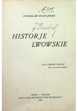 Historie Lwowskie 1921r