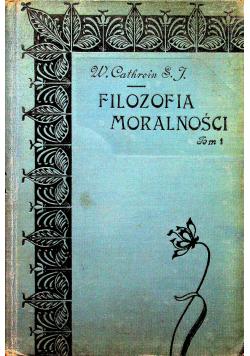 Filozofia moralności 1904 r.