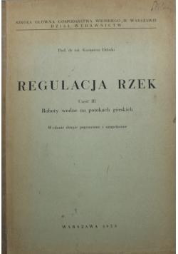 Regulacja rzek Część III
