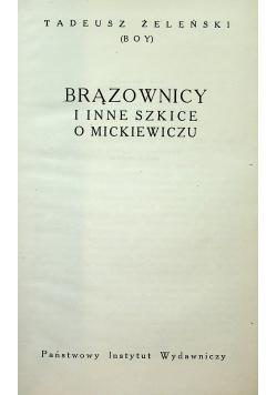 Brązownicy i inne szkice o Mickiewiczu