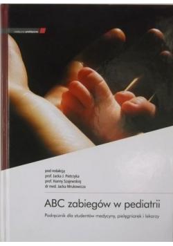 ABC zabiegów w pediatrii płyta CD