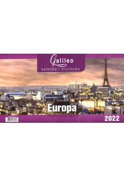 Kalendarz 2022 Biurkowy Galileo Europa CRUX