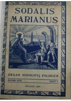 Sodalis Marianus 1928 r