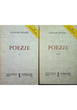 Miłosz Poezje tom 1 i 2