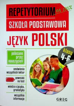 Repetytorium Szkoła podstawowa Język polski 4 - 6