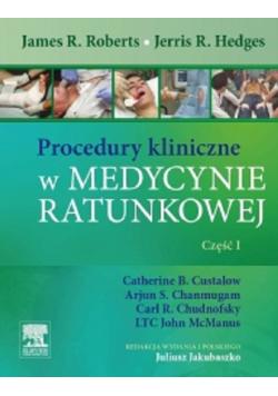 Procedury kliniczne w medycynie ratunkowej Część 1