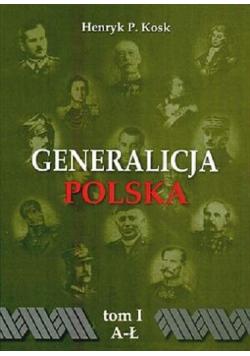Generalicja Polska tom I
