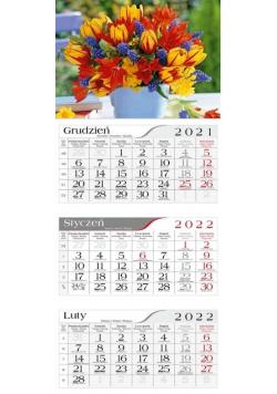 Kalendarz 2022 Trójdzielny Bukiet CRUX