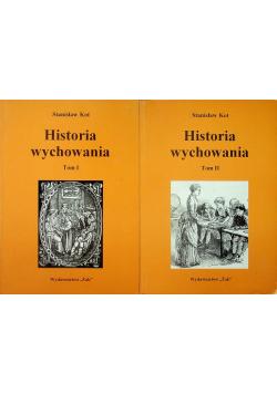 Historia wychowania 2 tomy