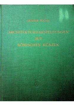 Architekturdarstellungen auf romischen munzen