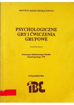 Psychologiczne gry i ćwiczenia grupowe