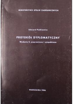 Protokół dypolomatyczny