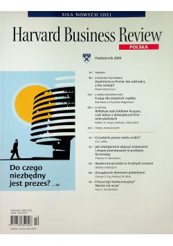 Harvard Business Review Polska nr 10