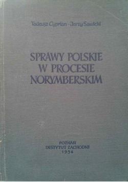 Sprawy polskie w Procesie Norymberskim