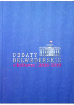 Debaty Belwederskie o kulturze  2016 - 2019