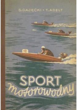 Sport motorowodny
