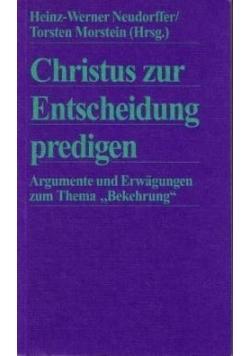 Christus zur Entscheidung predigen 1994