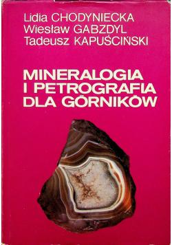 Mineralogia i petrografia dla górników