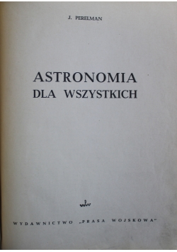 Astronomia dla wszystkich 1949 r