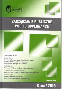 Zarządzanie Publiczne 3(33)/2015