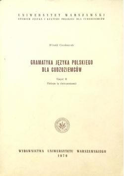 Gramatyka Języka Polskiego Dla Cudzoziemców część II
