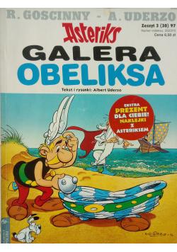 Asterix Galera Obeliksa Zeszyt 3