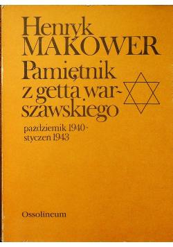 Pamiętnik z getta warszawskiego